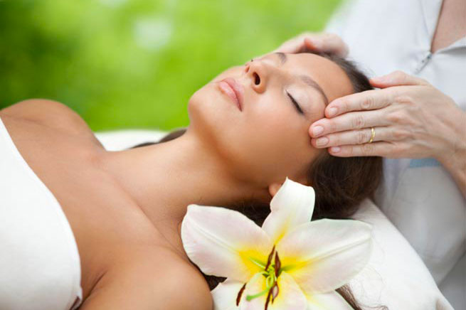 Enjoy a relaxing massage