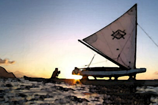 Traditional Hawaiian Sailing